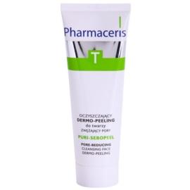 Pharmaceris T-Zone Oily Skin Puri-Sebopeel gel de limpeza esfoliante para pele oleosa propensa a acne  50 ml