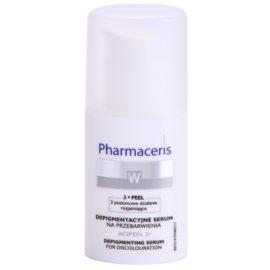 Pharmaceris W-Whitening Acipeel 3x aufhellendes Korrektur Serum gegen Pigmentflecken mit Vitamin C  30 ml