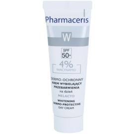 Pharmaceris W-Whitening Melacyd bělicí krém proti pigmentovým skvrnám SPF 50+  30 ml