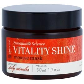 Phenomé Daily Miracles Brightening mascarilla espuma hidratante para lucir una piel radiante  50 ml