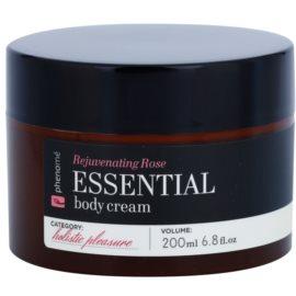 Phenomé Holistic Pleasure Rejuvenating Rose crema de corp cu uleiuri esentiale  200 ml