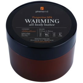 Phenomé Holistic Pleasure Tangerine Spa wärmende Bodybutter  200 ml