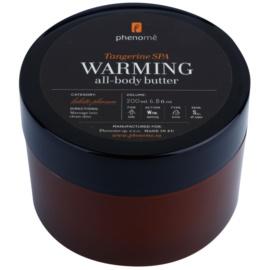 Phenomé Holistic Pleasure Tangerine Spa zahřívací tělové máslo  200 ml