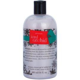 Philosophy Iced Orchid sprchový gel pro ženy 480 ml