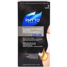 Phyto Color Haarfarbe Farbton 2 Brown