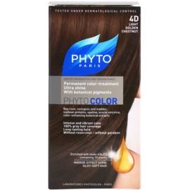 Phyto Color Haarfarbe Farbton 4D Light Golden Chestnut