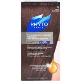 Phyto Color barva na vlasy odstín 5 Light Chestnut