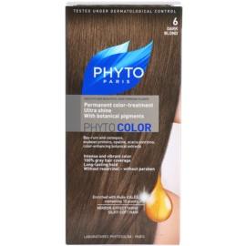 Phyto Color coloração de cabelo tom 6 Dark Blond