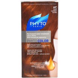 Phyto Color coloração de cabelo tom 6C Dark Coppery Blond
