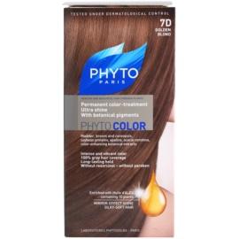 Phyto Color barva na vlasy odstín 7D Golgen Blond