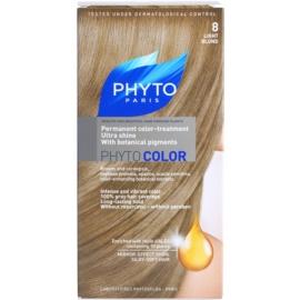Phyto Color coloração de cabelo tom 8 Light Blond 1 un.