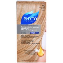 Phyto Color coloração de cabelo tom 9D Very Light Golden Blond