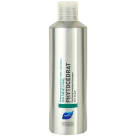 Phyto Phytocédrat champô fortificante de tratamento especial para o couro cabeludo oleoso  200 ml