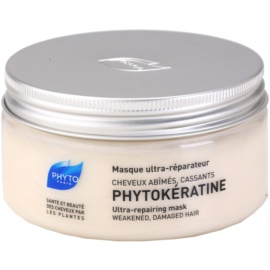 Phyto Phytokératine obnovující maska pro poškozené vlasy  200 ml