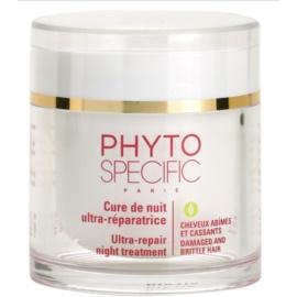 Phyto Specific Specialized Care maseczka regeneracyjna na noc do włosów słabych i zniszczonych  75 ml