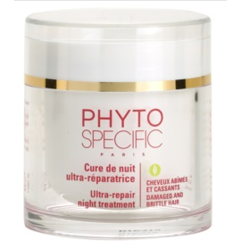Phyto Specific Specialized Care máscara de noite regeneradora para cabelo danificado e quebradiço  75 ml