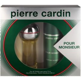Pierre Cardin Pour Monsieur for Him dárková sada II. toaletní voda 75 ml + deodorant ve spreji 200 ml