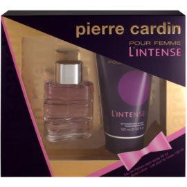 Pierre Cardin Pour Femme L'Intense dárková sada II.  parfemovaná voda 50 ml + tělové mléko 150 ml