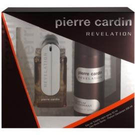 Pierre Cardin Revelation Geschenkset I. Eau de Toilette 50 ml + Deo-Spray 200 ml
