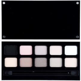 Pierre René Eyes Match System paleta de sombras de olhos - 10 cores tom Nude