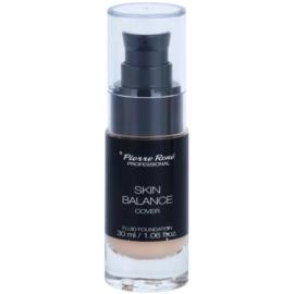 Pierre René Face Skin Balance Waterproef Foundation Fluid  voor Langdurige Effect  Tint  21 Porcelain 30 ml