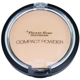 Pierre René Face polvos compactos con espejo y aplicador tono 03 Transparent  8 g