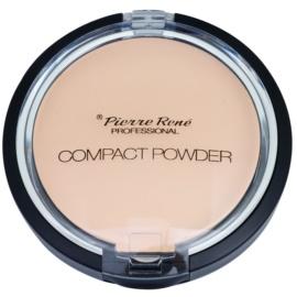 Pierre René Face pudra compacta cu oglinda si aplicator culoare 06 Natural Bronze  8 g