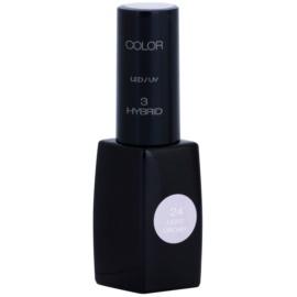 Pierre René Nails Hybrid гел лак за нокти с използване на UV/LED лампа цвят 24 Light Orchid  11 мл.