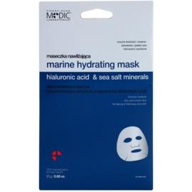 Pierre René Medic Laboratorium feuchtigkeitsspendende Gesichtsmaske mit Meeresmineralien  25 g