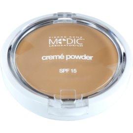 Pierre René Medic Laboratorium kremasti puder z ogledalom in aplikatorjem SPF 15 odtenek 03 Natural  7 g