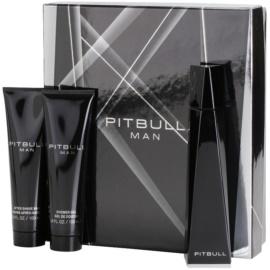 Pitbull Pitbull Man zestaw upominkowy I. woda toaletowa 100 ml + żel pod prysznic 100 ml + balsam po goleniu 100 ml