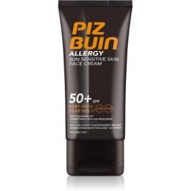 Piz Buin Allergy Face Sun Cream  SPF50+  50 ml