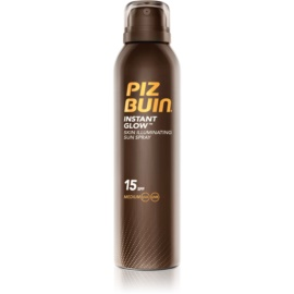 Piz Buin Instant Glow Verhelderende Bruiningsspray  SPF15  150 ml