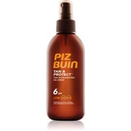 Piz Buin Tan & Protect napozást elősegítő védő olaj SPF 6  150 ml