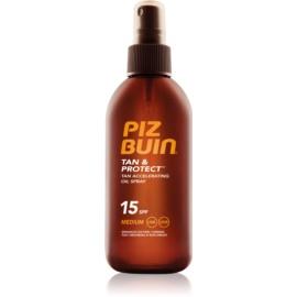 Piz Buin Tan & Protect Beschermende Olie voor Snellere Bruining SPF15  150 ml