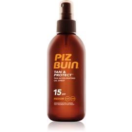Piz Buin Tan & Protect olejek ochronny przyspieszający opalanie SPF 15  150 ml