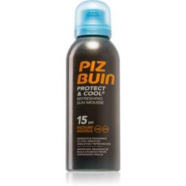 Piz Buin Protect & Cool osvežilna pena za sončenje SPF 15  150 ml