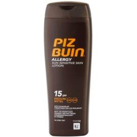 Piz Buin Allergy leche bronceadora SPF 15  200 ml