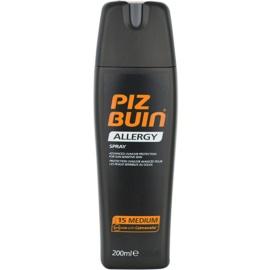 Piz Buin Allergy pršilo za sončenje SPF 15  200 ml