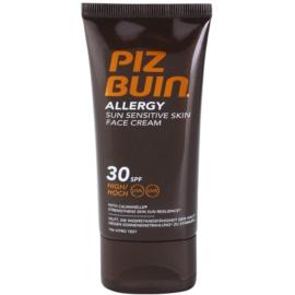 Piz Buin Allergy Face Sun Cream  SPF 30  50 ml