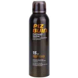 Piz Buin Instant Glow rozjasňující sprej na opalování SPF 15  150 ml
