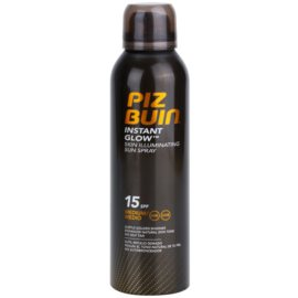 Piz Buin Instant Glow spray bronzeador iluminador SPF 15  150 ml