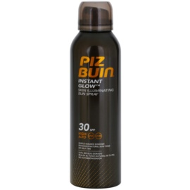 Piz Buin Instant Glow Sunscreen Spray with Shimmer SPF 30  150 ml