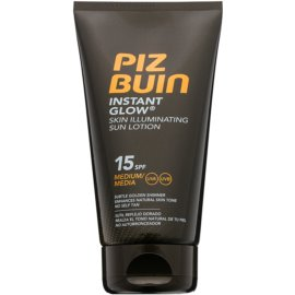 Piz Buin Instant Glow Skin Illuminating Sun Lotion SPF 15 150 ml