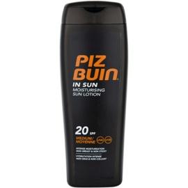 Piz Buin In Sun crema hidratante bronceadora  SPF 20  200 ml