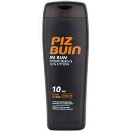 Piz Buin In Sun hydratačné mlieko na opaľovanie SPF 10  200 ml