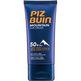 Piz Buin Mountain krema za sončenje za obraz SPF 50+  50 ml