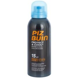 Piz Buin Protect & Cool erfrischender Bräunungsschaum LSF 15  150 ml