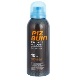 Piz Buin Protect & Cool osvěžující opalovací pěna SPF 10  150 ml