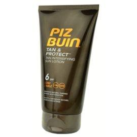 Piz Buin Tan & Protect schützende Sonnenlotion für schnellere Bräune SPF 6  150 ml